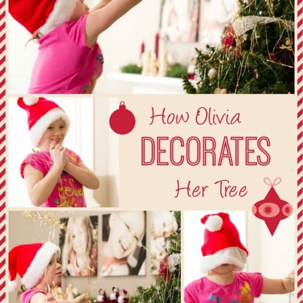 Wordless Wednesday — How to Hang Tinsel on a Christmas Tree