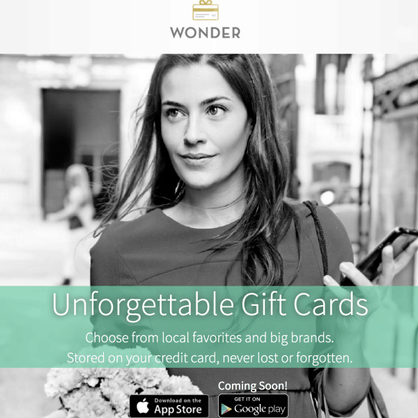 Join #WonderGiftCards Twitter Party with @wndr – $400 in Prizes