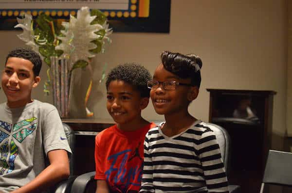 black-ish interview with Miles Brown, Marsai Martin, Marcus Scribner