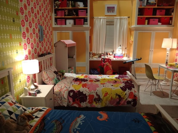 black-ish set tour - Jack & Diane's Room