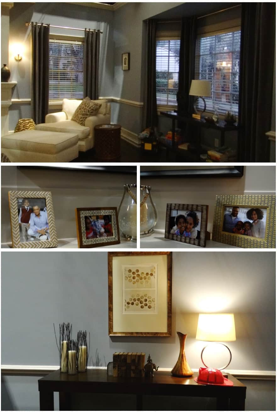 black-ish set tour - Living Room Collage