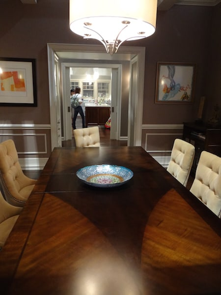 black-ish set tour - dining room