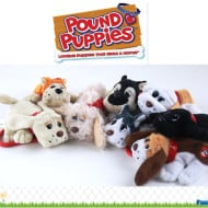WIN a SET of 4 PUPPIES – Pound Puppies, that is! Christmas #Giveaway