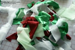 Holiday Ruffle Wreath Tutorial / by Busy Mom's Helper for 5MinutesforMom.com #craft #holidays
