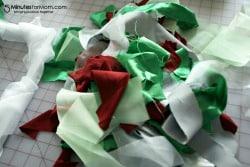 Holiday Ruffle Wreath Tutorial / by Busy Mom's Helper for 5MinutesforMom.com #craft #holidays