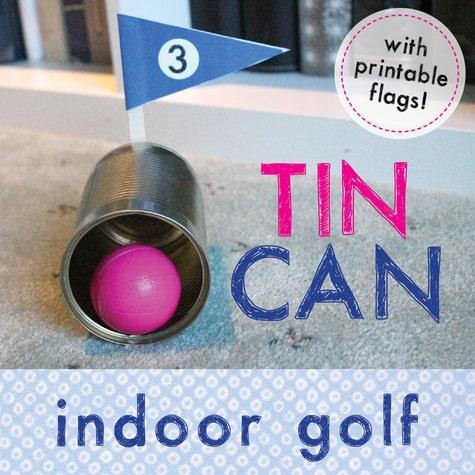 Tin Can Indoor Golf