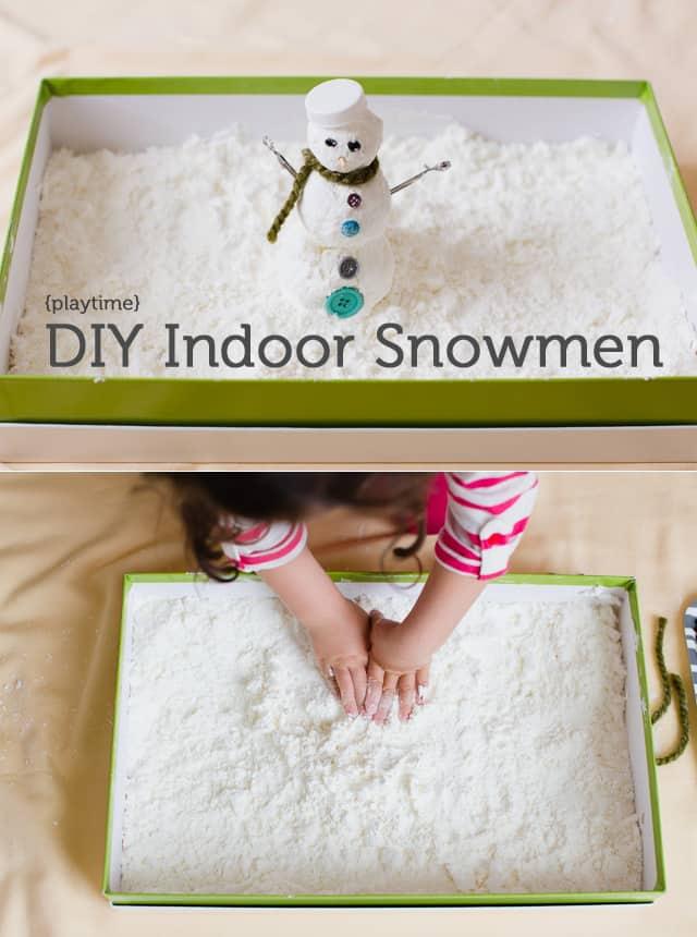 Indoor Snowmen