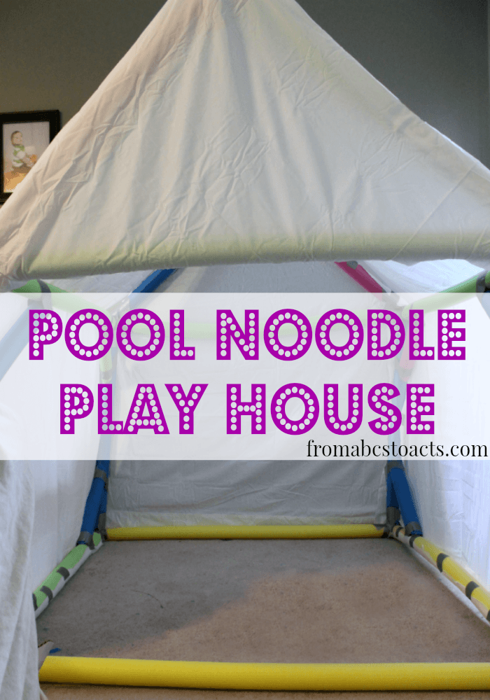 Pool Noodle Play House