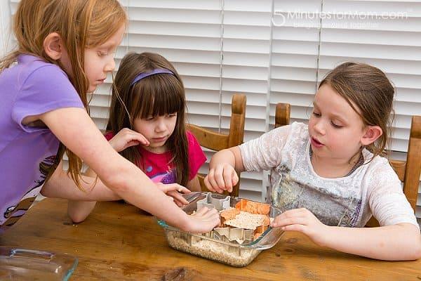 Rice Krispies Treats cookie cutters