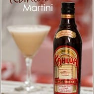 Gingerbread Kahlua Martini