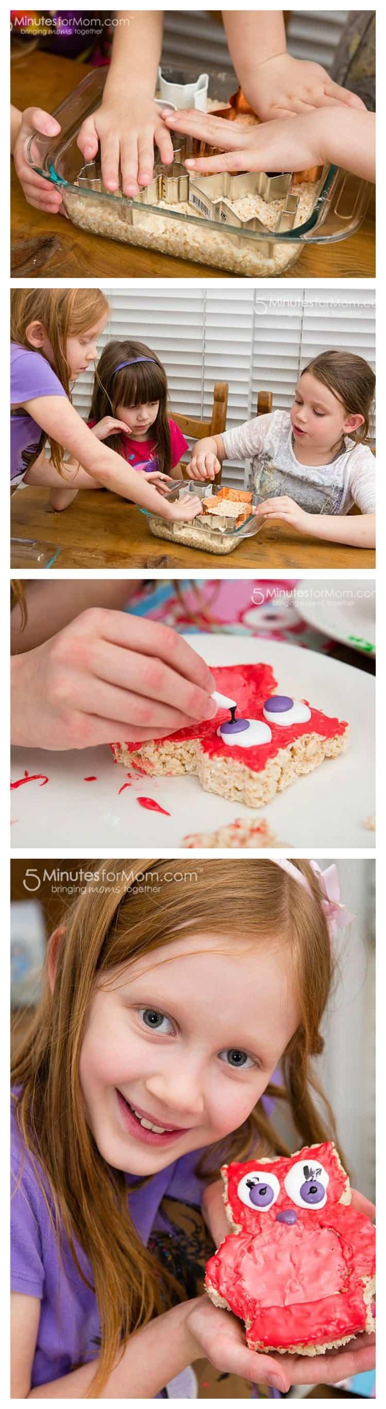 Make Rice Krispies Cookie Cutter Treats