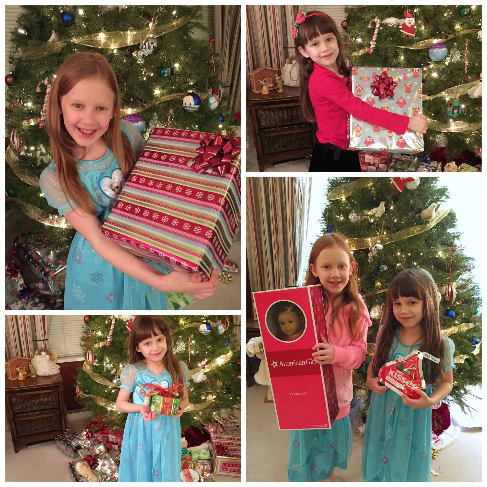 Opening Christmas Presents 2014