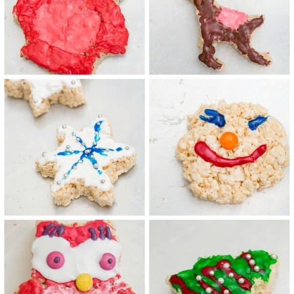 Cookie Cutter Rice Krispies Treats #TreatsForToys