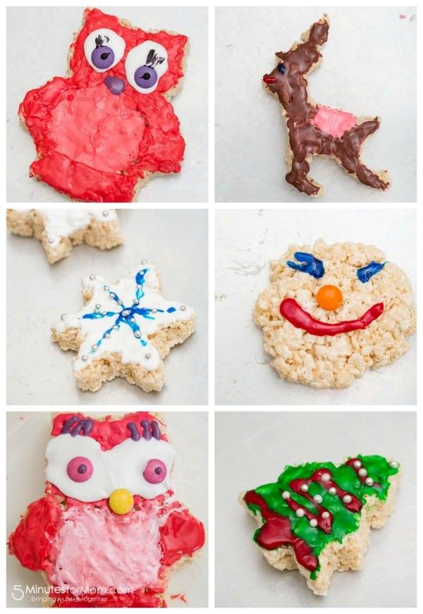 Rice Krispies Treats - cookie cutter treats