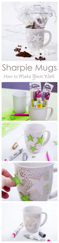Sharpie Mugs And Homemade Hot Chocolate Mix