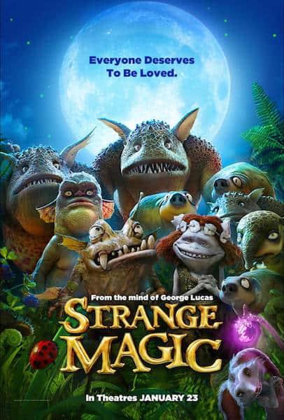Strange Magic Poster - #StrangeMagic