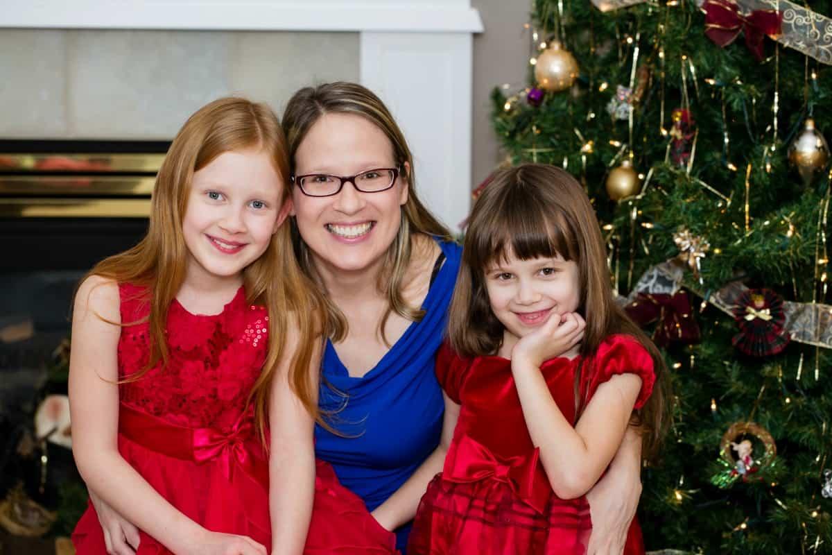 Susan and Girls Christmas Day