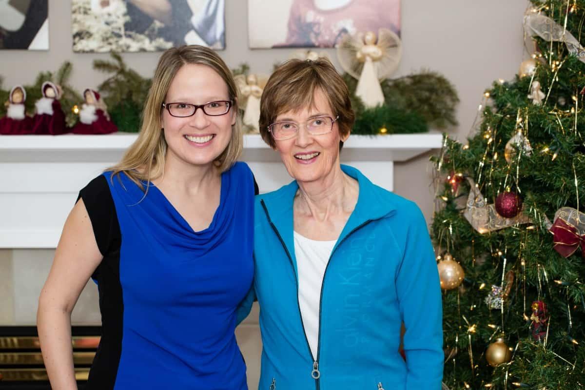 Susan and Joan Christmas Day
