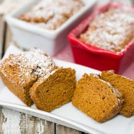 Scrumptious Gluten Free Pumpkin Bread (You Won't Miss the Gluten!)