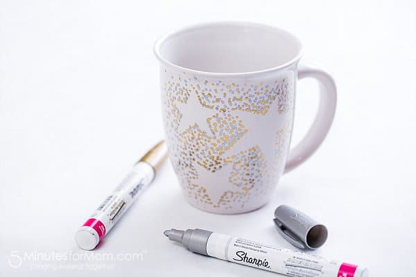 how to make a sharpie mug with oil based Sharpies