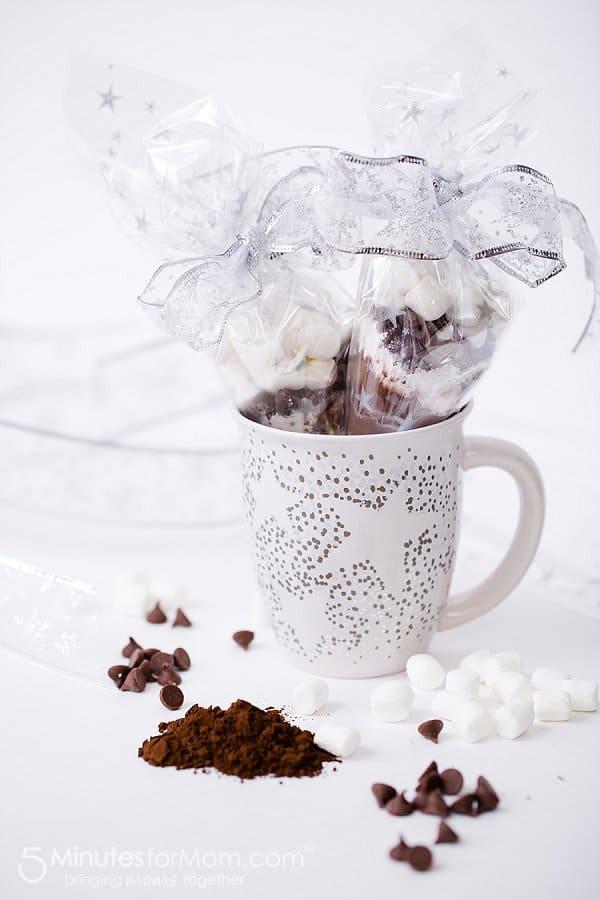 Sharpie Mug with Homemade Hot Chocolate Mix