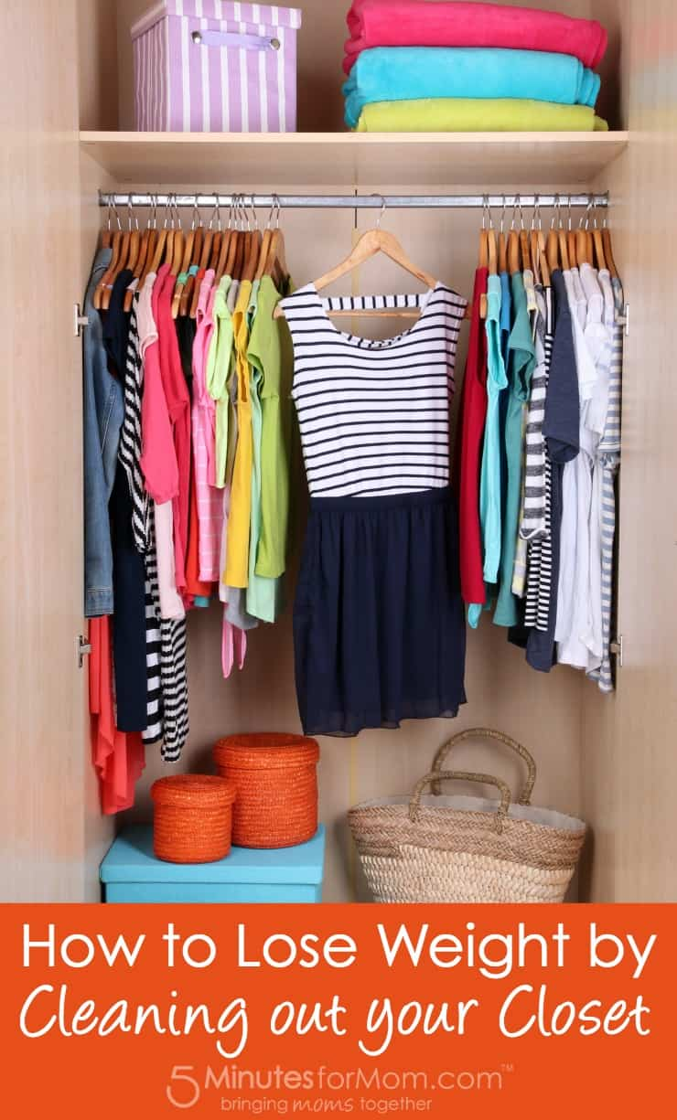 How to lose weight by cleaning out your closet - Cleaning out your closet ...