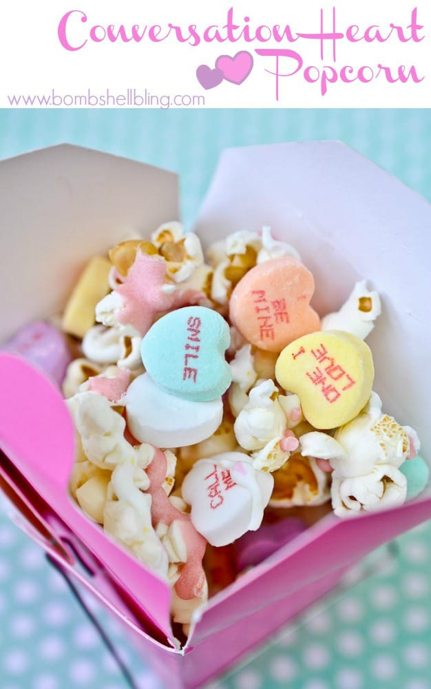 Conversation-Heart-Popcorn-Recipe - Bombshell Bling