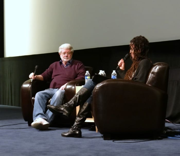 Exclusive Interview with George Lucas and Rayne Roberts