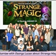 Exclusive Interview with George Lucas about Strange Magic- #StrangeMagic #StrangeMagic