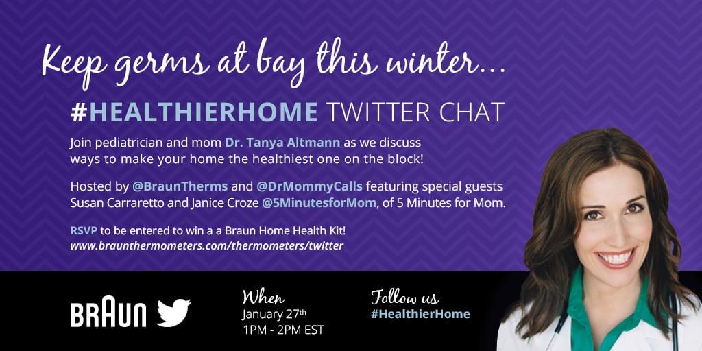 HealthierHome Twitter Chat