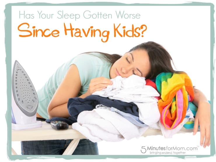 Has Your Sleep Gotten Worse Since Having Kids