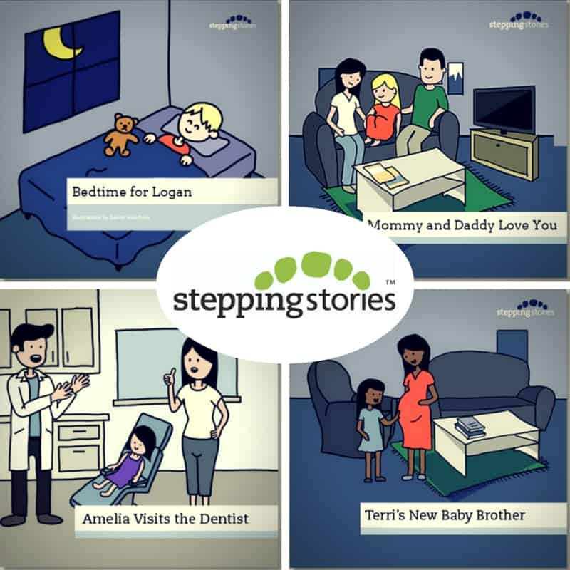 Stepping Stories Book Titles