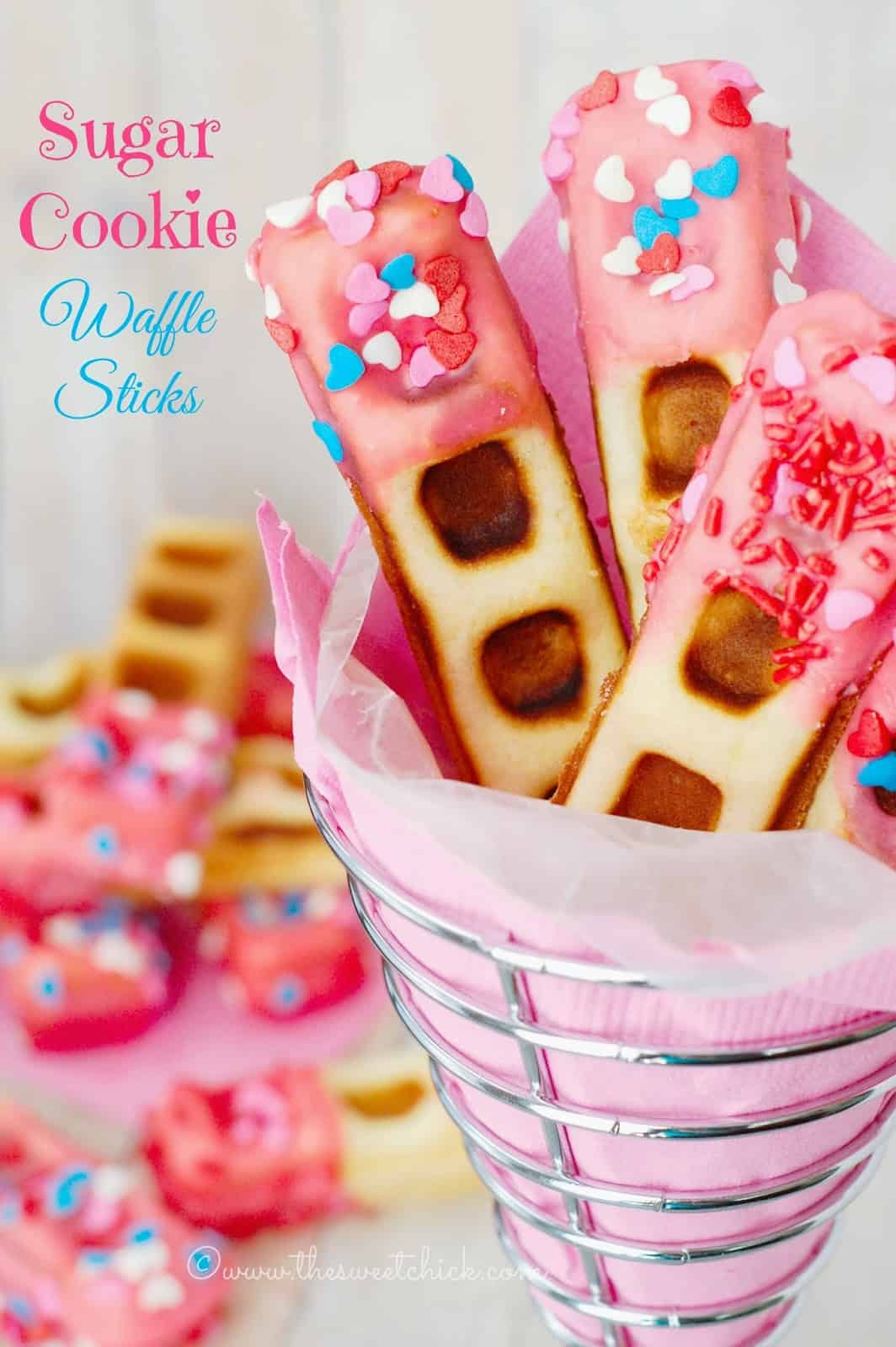 Sugar-Cookie-Waffle-Sticks - The Sweet Chick