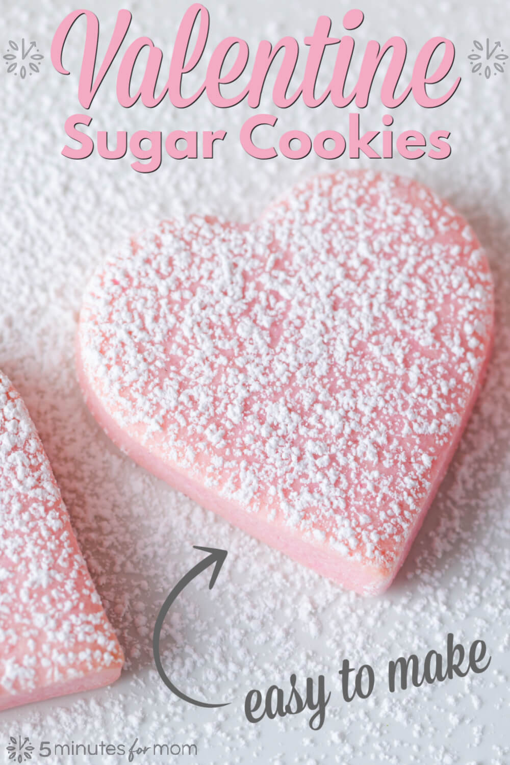 Valentines Day Sugar Cookies Recipe - Easy To Make