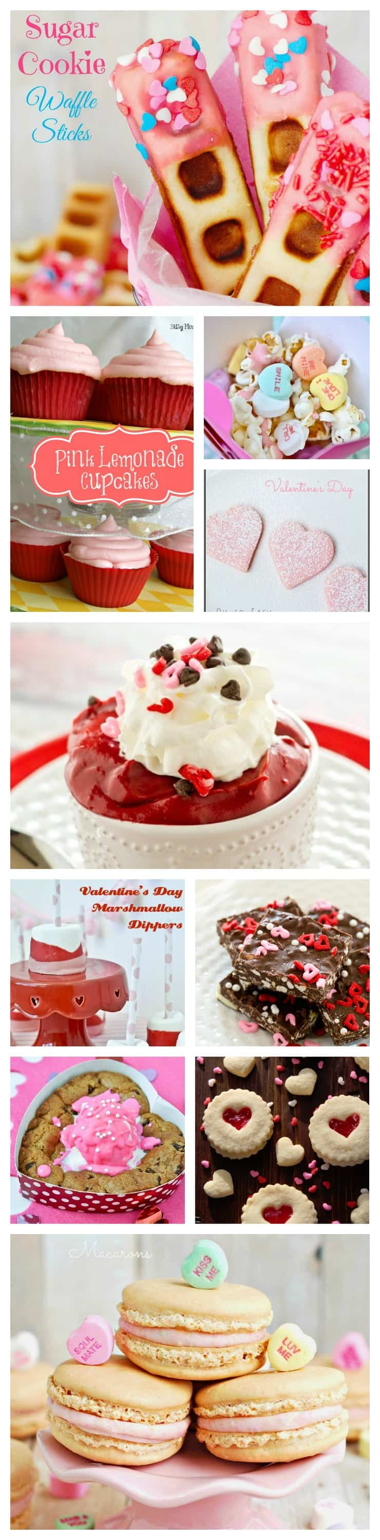 Valentine's Day Treats Round Up