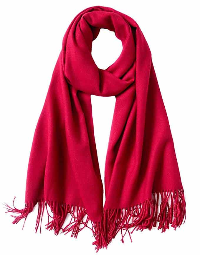 Womens Soft Cashmere Feel Pashmina