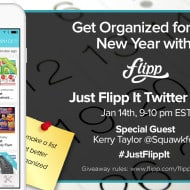 Let's Talk Organizing #JustFlippIt Twitter Party – Jan 14, 9pm ET