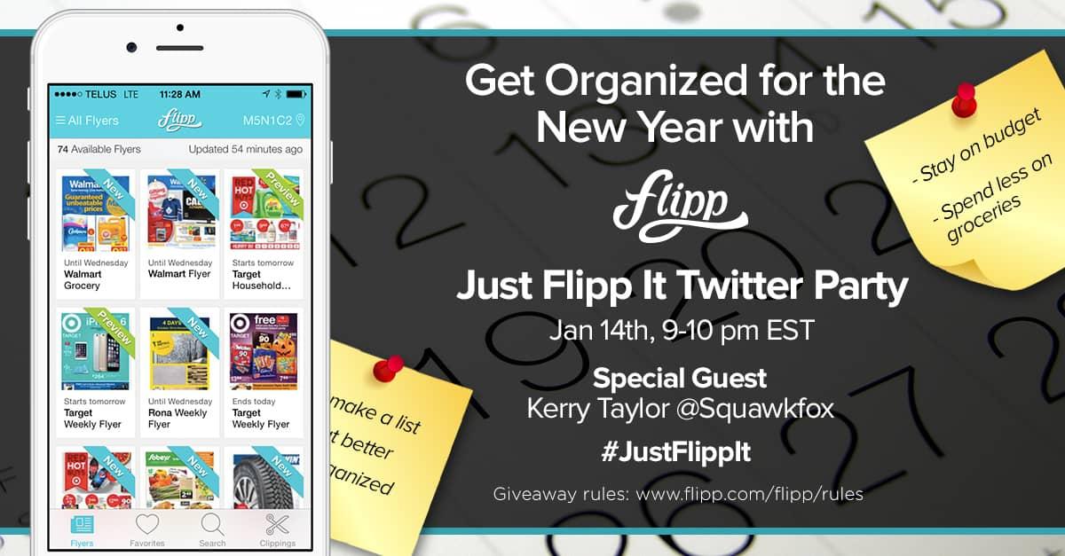 Just Flipp It Twitter Party
