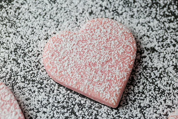 Super fast and easy valentines cookies
