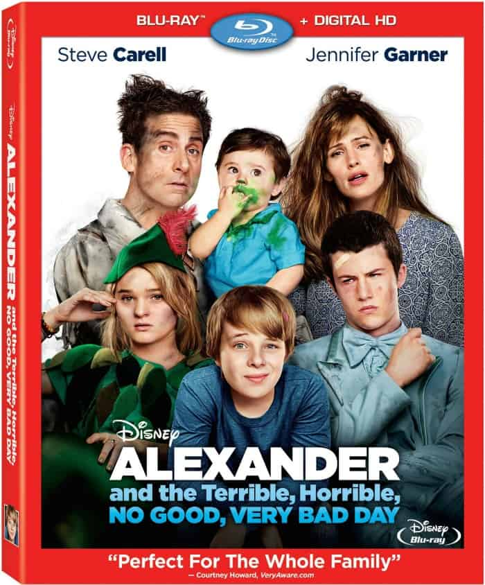 Alexander and the Terrible, Horrible, No Good, Very Bad Day BluRay Combo