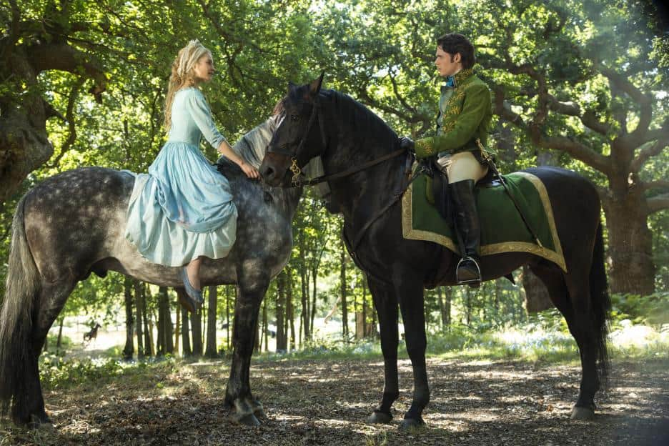 Cinderella - Meeting the Prince in the Woods