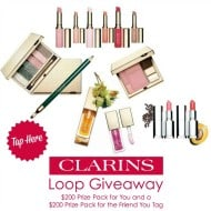 $200 Clarins Cosmetic Prize Pack Instagram Giveaway (Canada Only)
