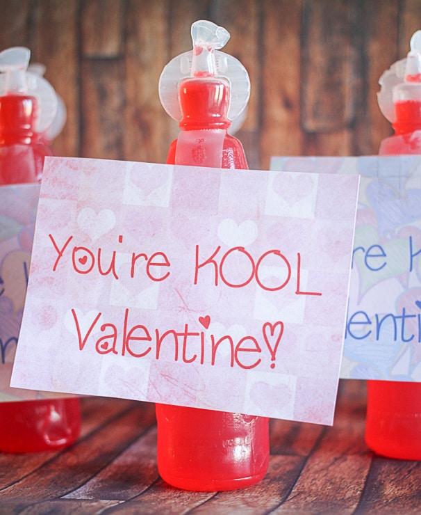 DIY Printable Valentine's Day Cards for Kids-1