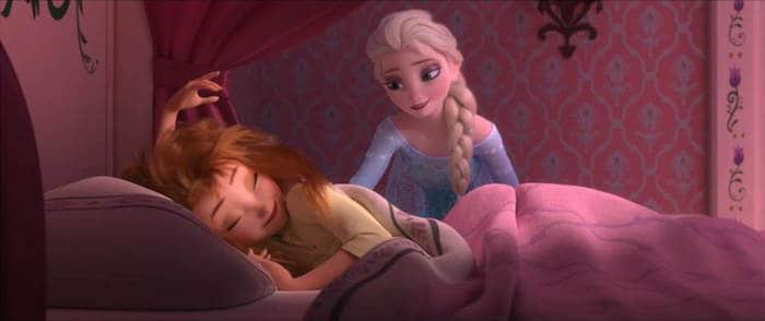 Frozen Fever - Anna Elsa Wake Up