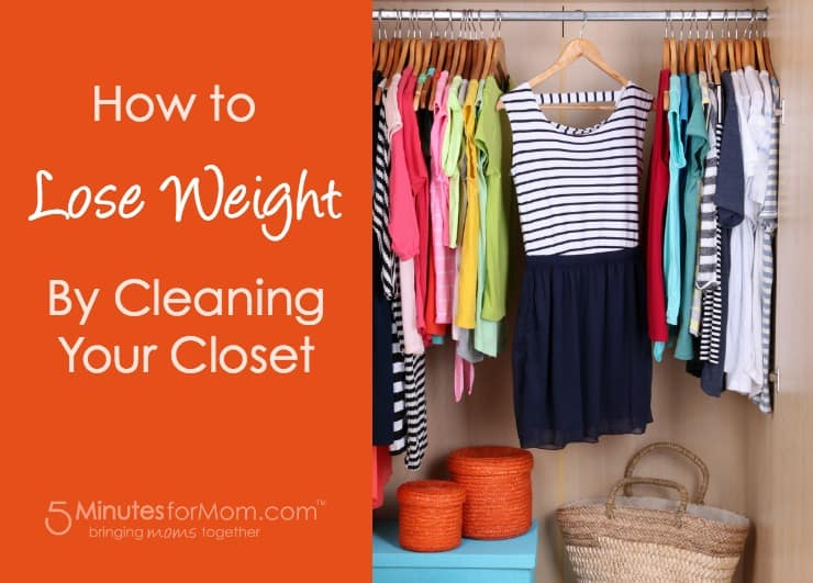How to Lose Weight by Cleaning Out Your Closet