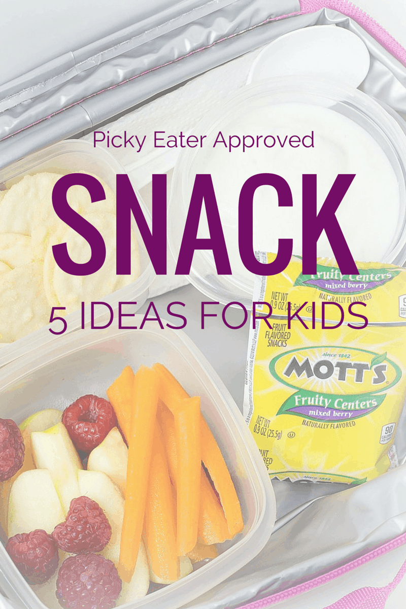 SNACK Ideas for Picky Eaters