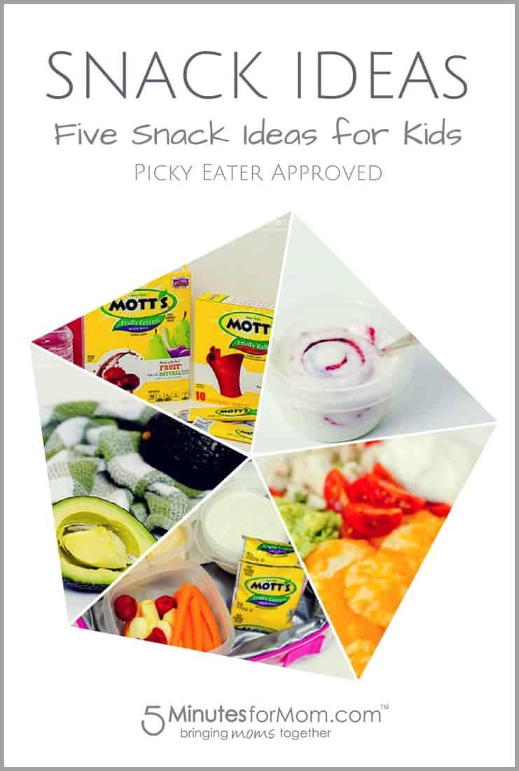 kid friendly snack ideas
