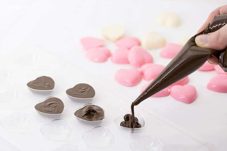 Valentines Chocolate Molds
