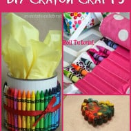 Crayon Craft Ideas to Help you Celebrate National Crayon Day