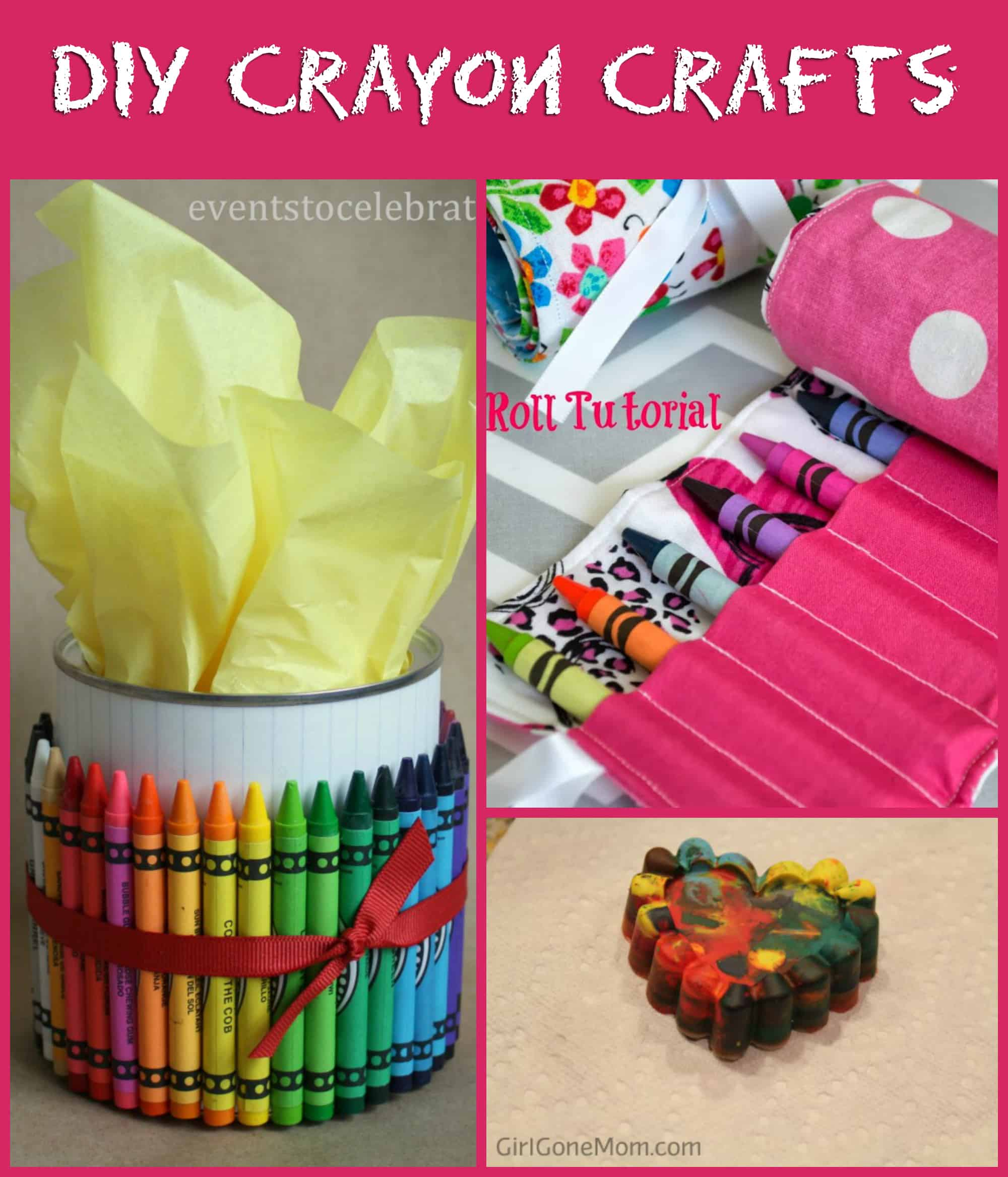 Try One Of These Crayon Crafts Today